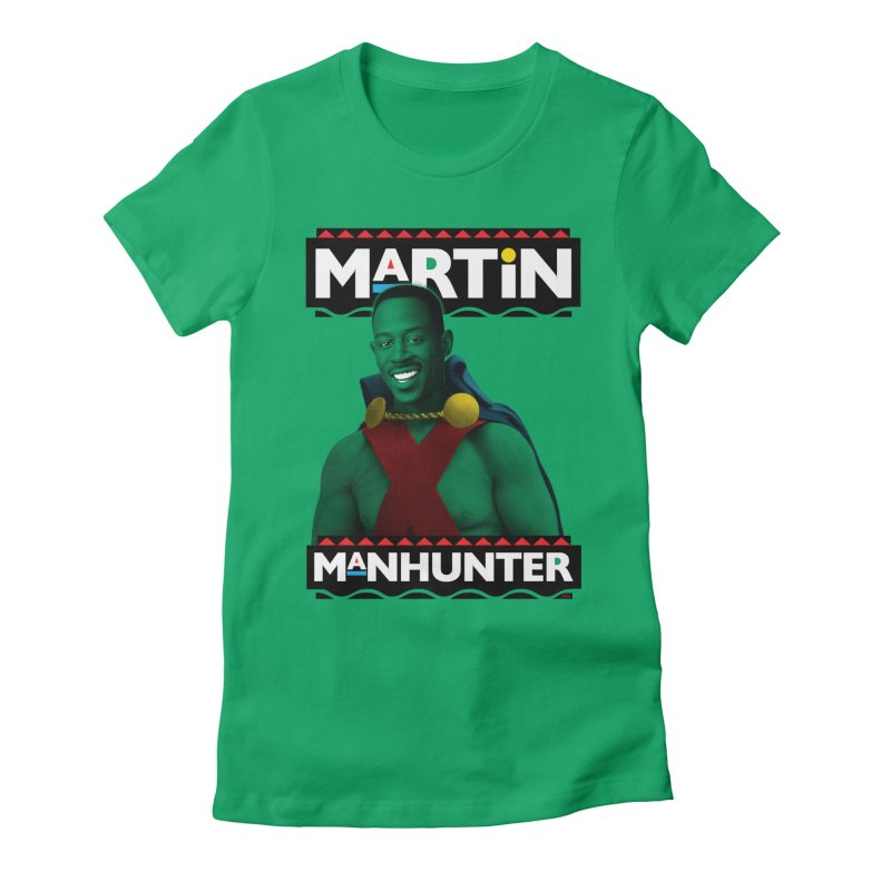 Martin Manhunter Women's T-Shirt by whoisrico's Artist Shop
