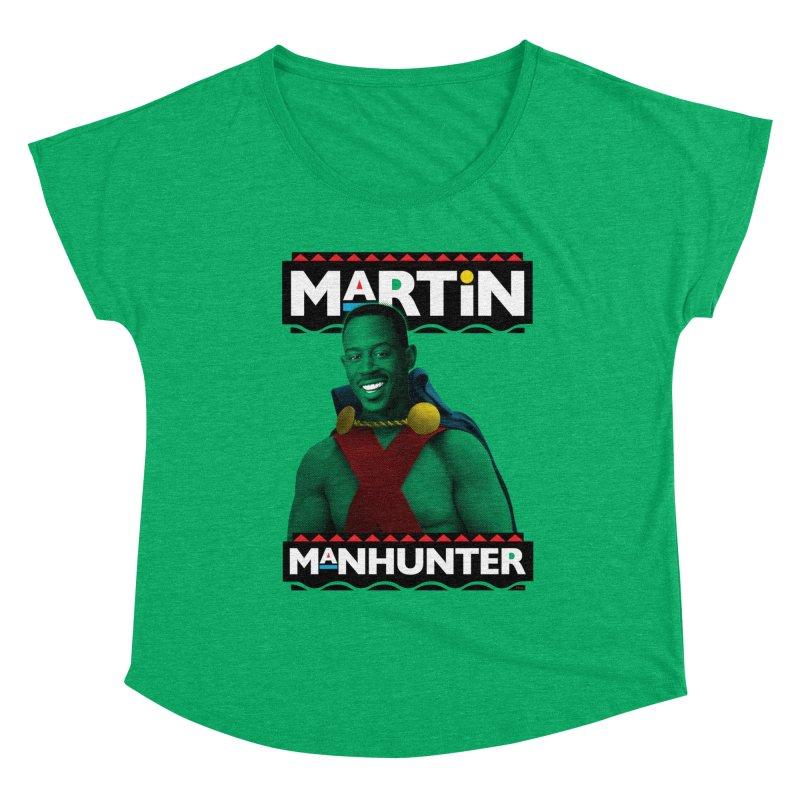 Martin Manhunter Women's Scoop Neck by whoisrico's Artist Shop