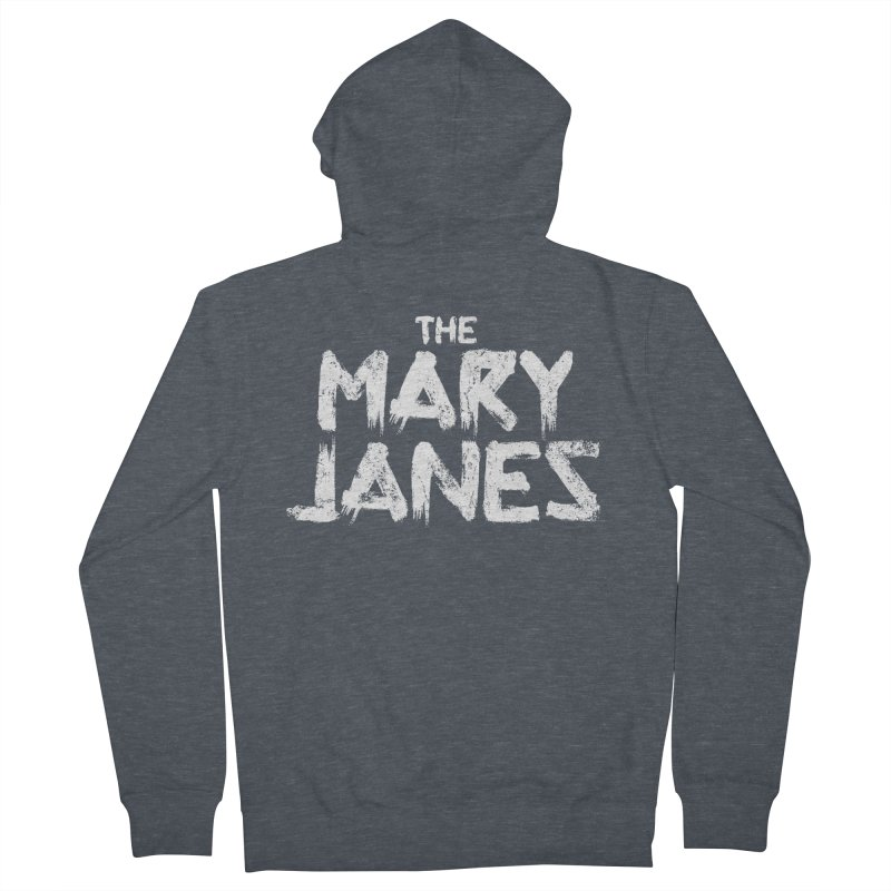 MJs Tour Tee Distressed Women's French Terry Zip-Up Hoody by whoisrico's Artist Shop