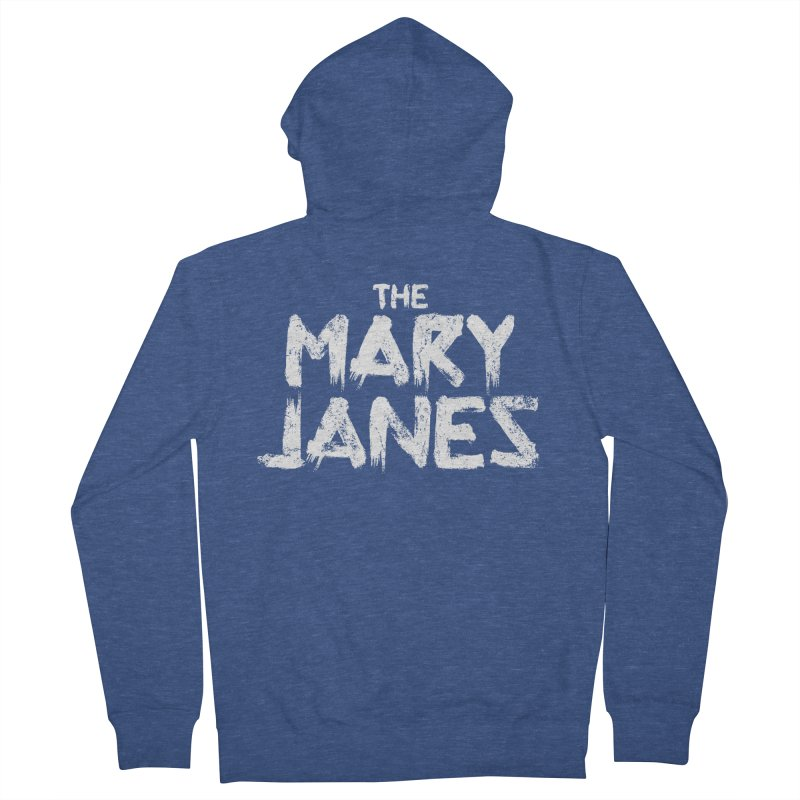 MJs Tour Tee Distressed Men's Zip-Up Hoody by whoisrico's Artist Shop