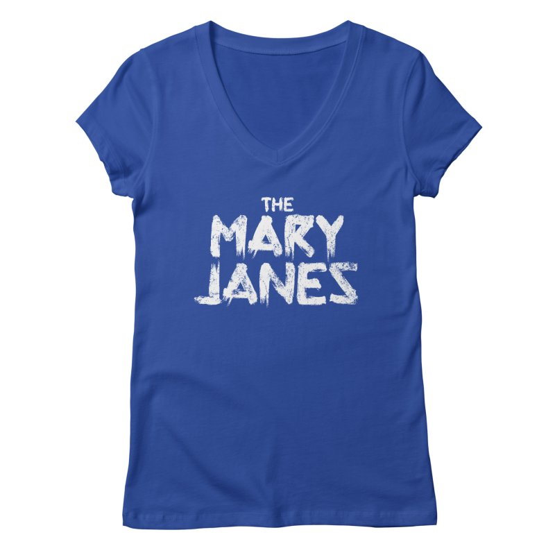 MJs Tour Tee Distressed Women's V-Neck by whoisrico's Artist Shop