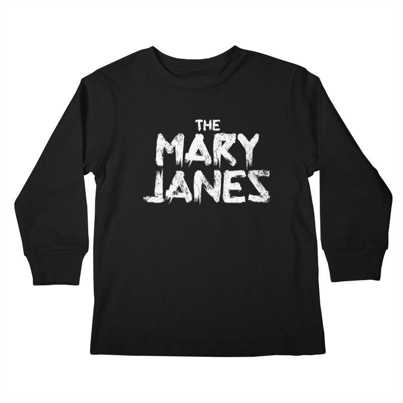 MJs Tour Tee Distressed Kids Longsleeve T-Shirt by whoisrico's Artist Shop