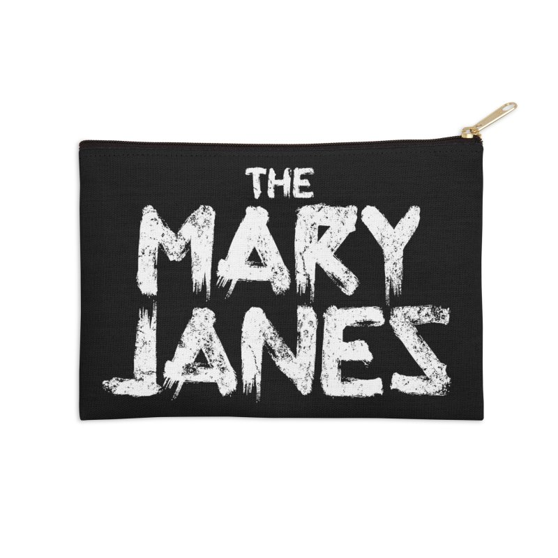 MJs Tour Tee Distressed Accessories Zip Pouch by whoisrico's Artist Shop