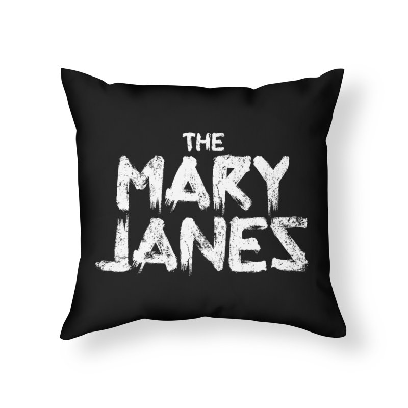 MJs Tour Tee Distressed Home Throw Pillow by whoisrico's Artist Shop
