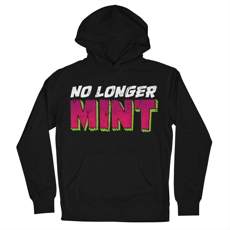 No Longer Mint in Men's French Terry Pullover Hoody Black by whoisrico's Artist Shop