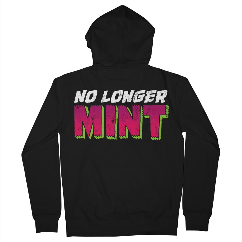 No Longer Mint Women's French Terry Zip-Up Hoody by whoisrico's Artist Shop