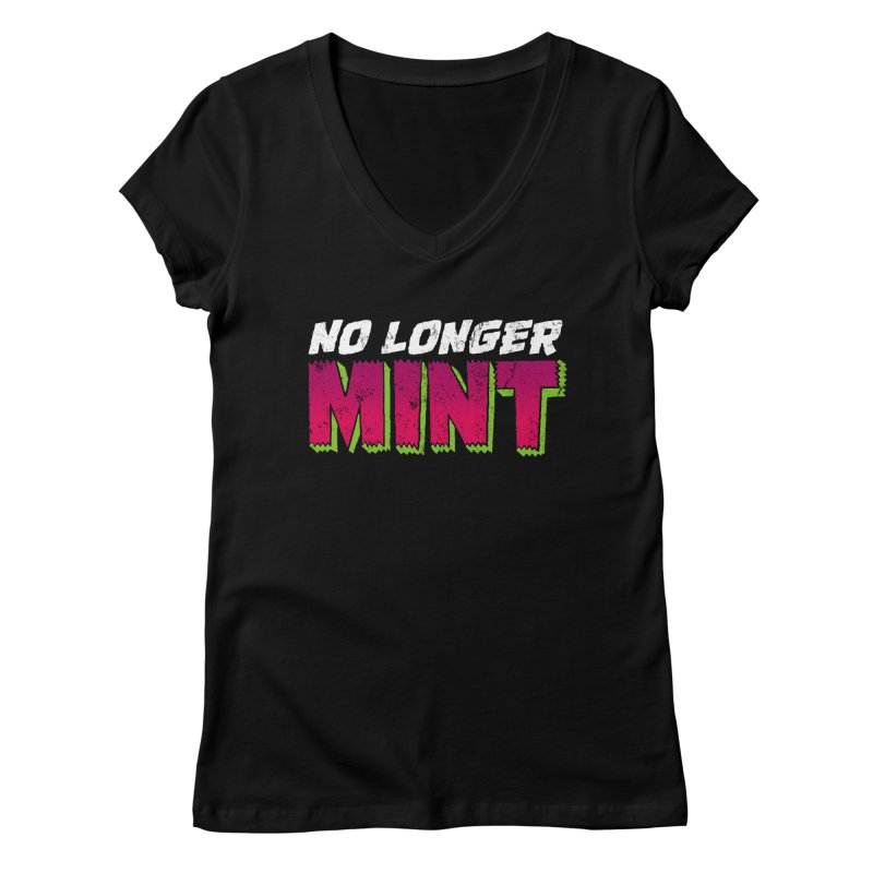 No Longer Mint Women's Regular V-Neck by whoisrico's Artist Shop