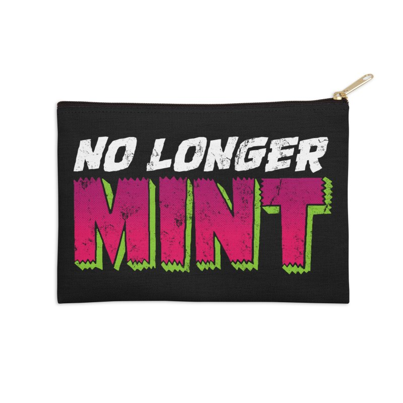 No Longer Mint Accessories Zip Pouch by whoisrico's Artist Shop
