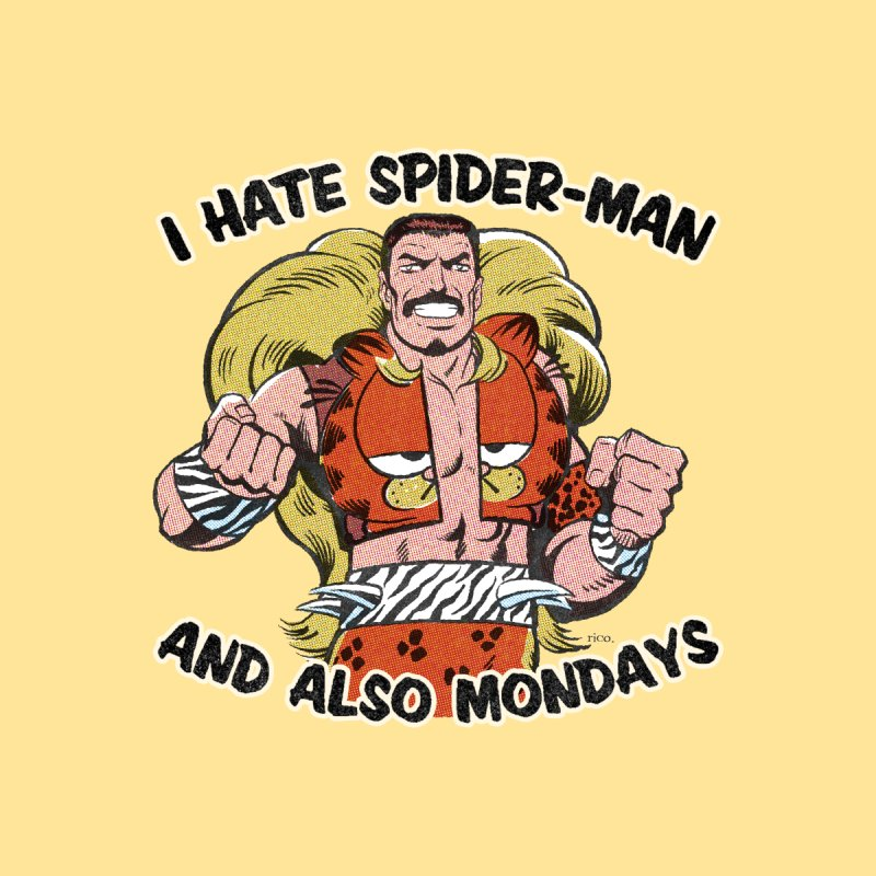 I Hate Spider-Man and also Mondays Men's T-Shirt by whoisrico's Artist Shop