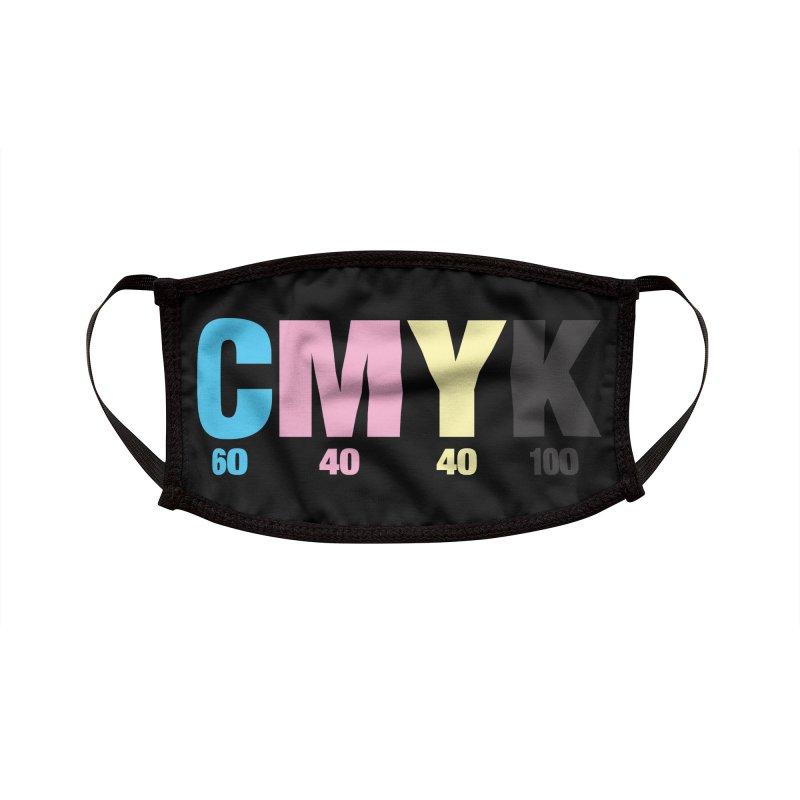 Rich Black (CMYK formula) Accessories Face Mask by whoisrico's Artist Shop