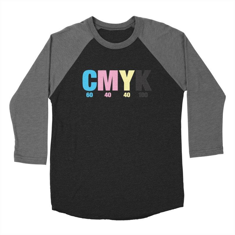Rich Black (CMYK formula) Women's Longsleeve T-Shirt by whoisrico's Artist Shop