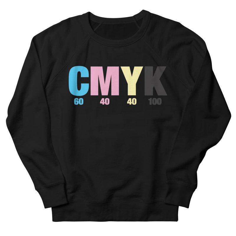 Rich Black (CMYK formula) Women's Sweatshirt by whoisrico's Artist Shop