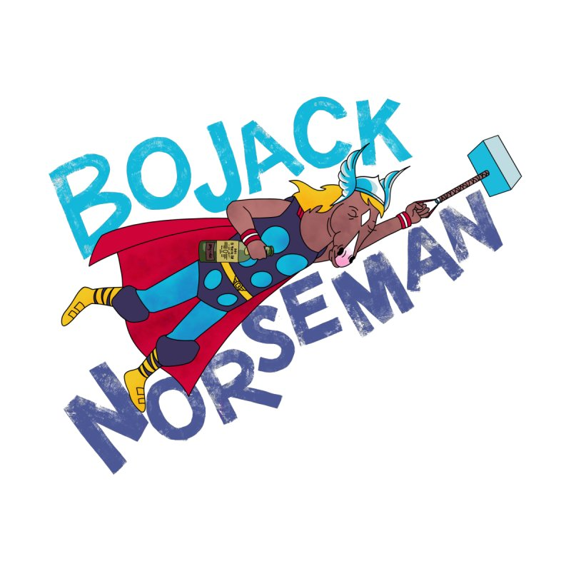 Bojack Norseman Women's T-Shirt by whoisrico's Artist Shop