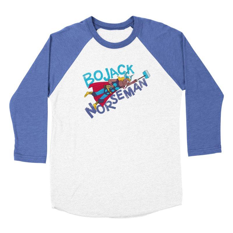 Bojack Norseman Women's Longsleeve T-Shirt by whoisrico's Artist Shop