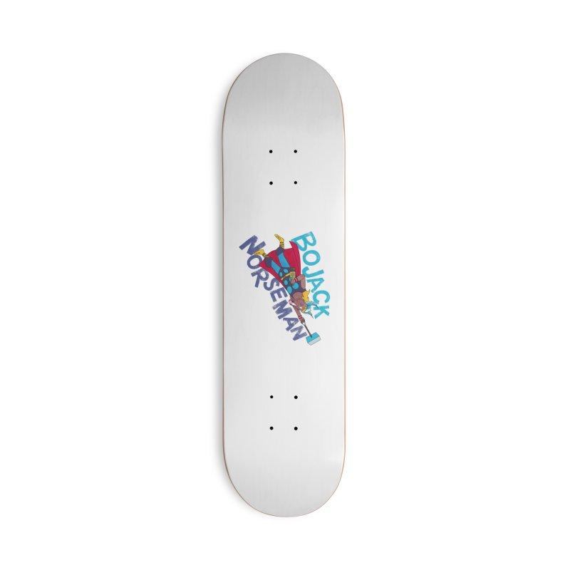 Bojack Norseman Accessories Skateboard by whoisrico's Artist Shop