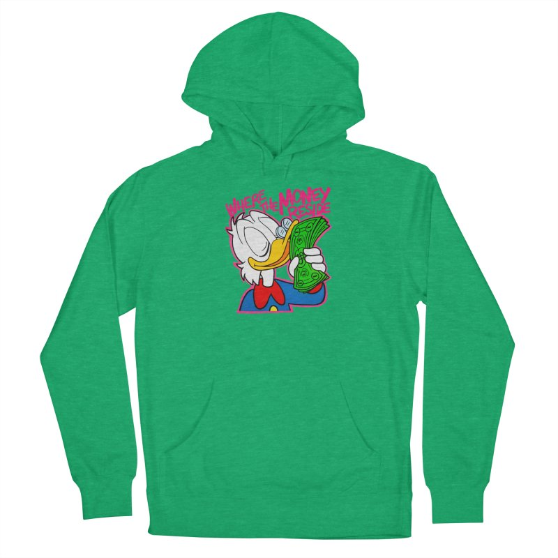Where The Money Reside Women's Pullover Hoody by whoisrico's Artist Shop
