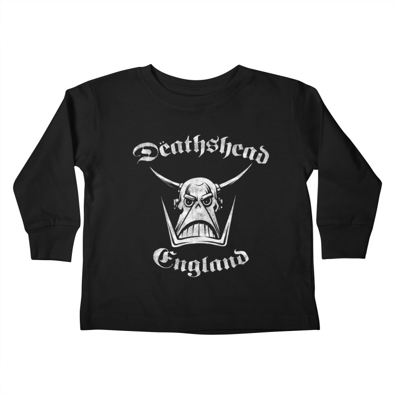 MotörDëath Kids Toddler Longsleeve T-Shirt by whoisrico's Artist Shop