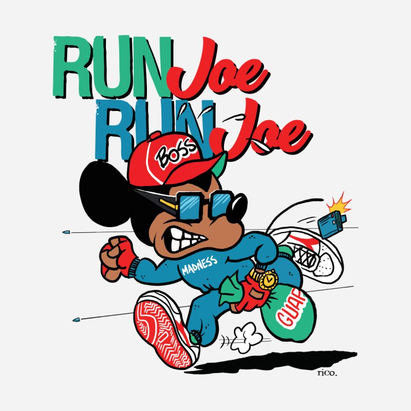 Run Joe Kids Toddler Pullover Hoody by whoisrico's Artist Shop