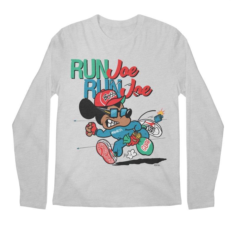 Run Joe Men's Longsleeve T-Shirt by whoisrico's Artist Shop