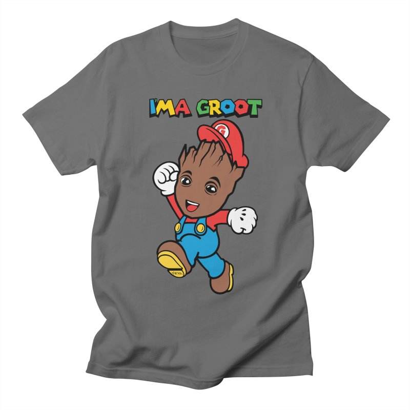 I'MAGROOT Men's T-Shirt by whoisrico's Artist Shop