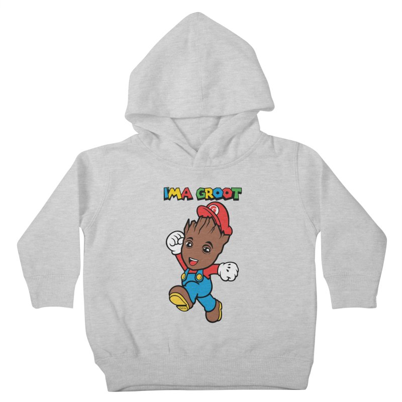 I'MAGROOT Kids Toddler Pullover Hoody by whoisrico's Artist Shop