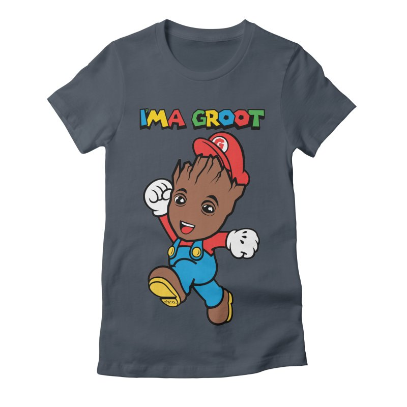 I'MAGROOT Women's T-Shirt by whoisrico's Artist Shop