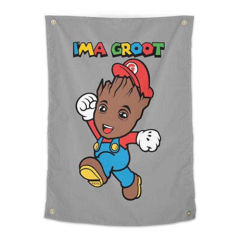 I'MAGROOT Home Tapestry by whoisrico's Artist Shop