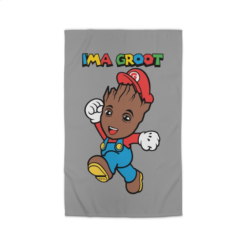 I'MAGROOT Home Rug by whoisrico's Artist Shop
