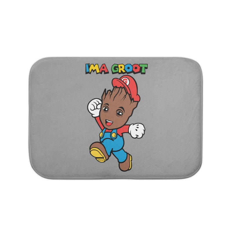 I'MAGROOT Home Bath Mat by whoisrico's Artist Shop
