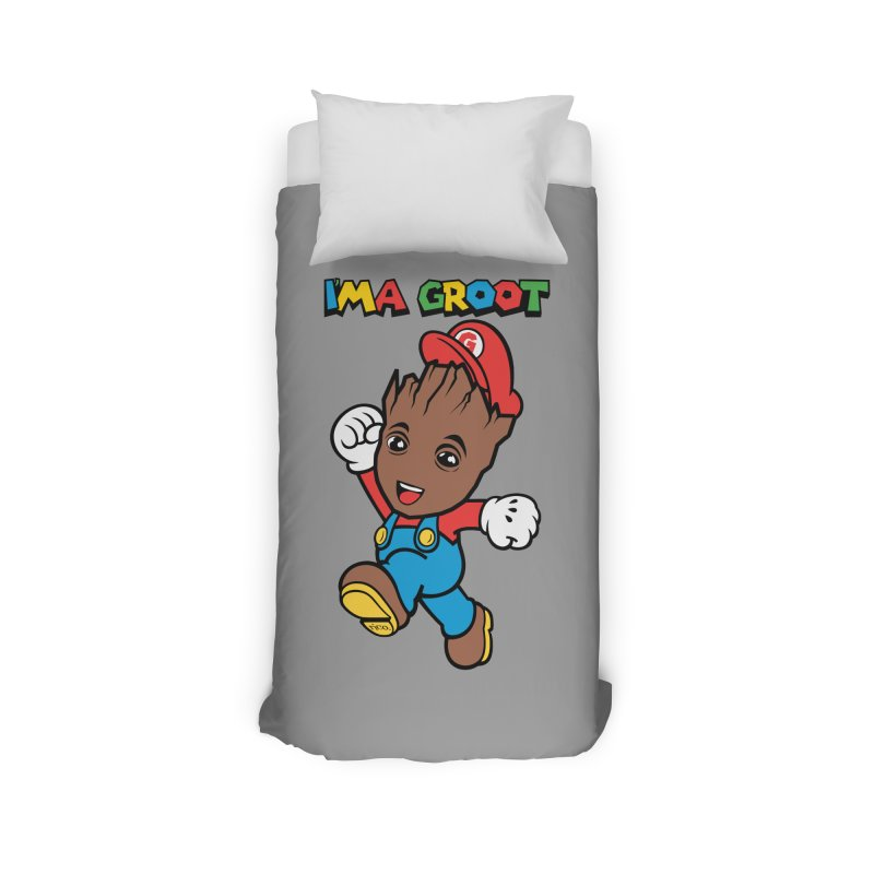 I'MAGROOT Home Duvet by whoisrico's Artist Shop