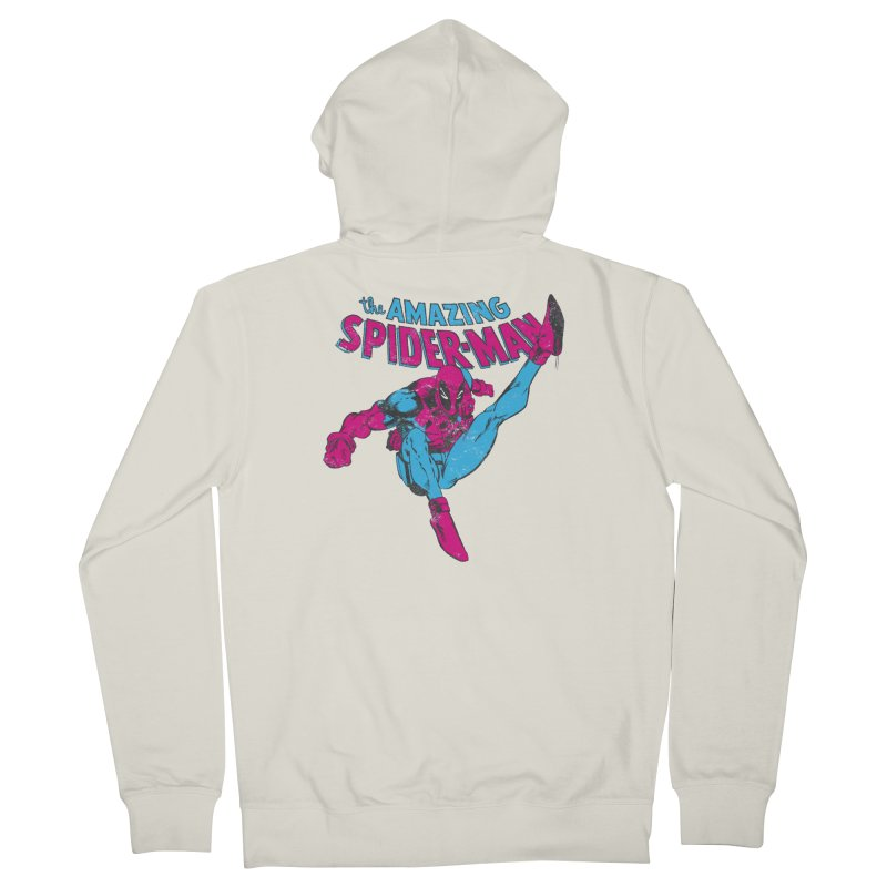 Action Is His Reward Women's Zip-Up Hoody by whoisrico's Artist Shop