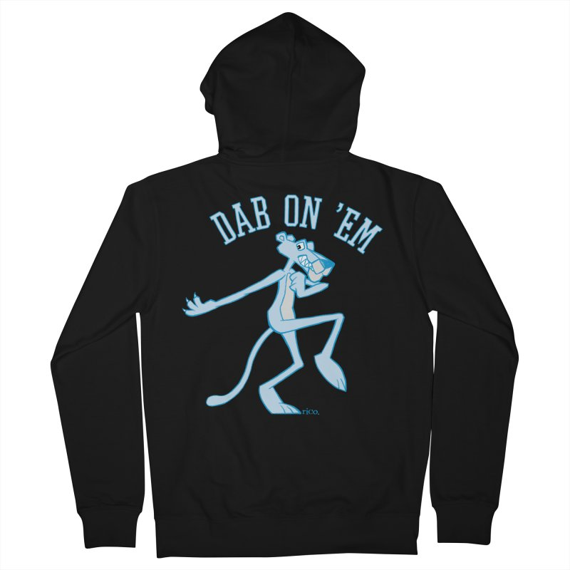 Dab On 'Em Women's French Terry Zip-Up Hoody by whoisrico's Artist Shop