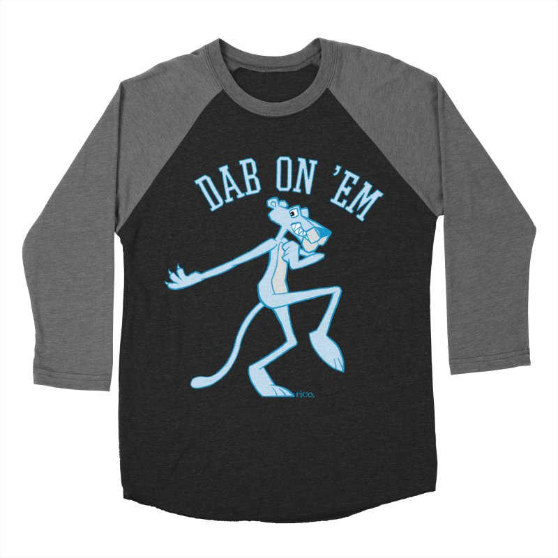 Dab On 'Em Men's Baseball Triblend Longsleeve T-Shirt by whoisrico's Artist Shop