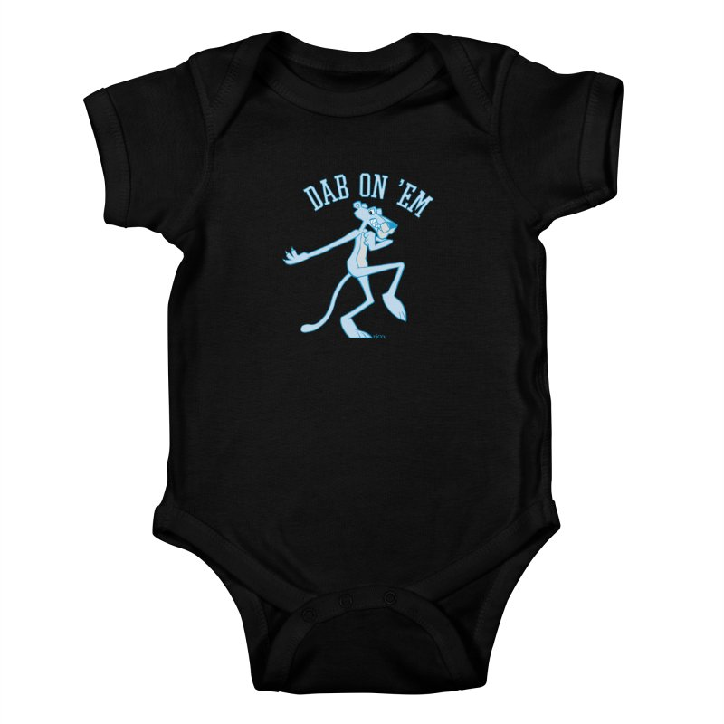 Dab On 'Em Kids Baby Bodysuit by whoisrico's Artist Shop