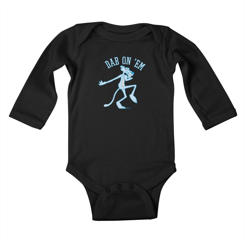Dab On 'Em Kids Baby Longsleeve Bodysuit by whoisrico's Artist Shop