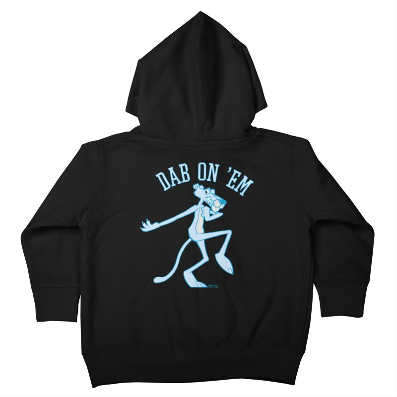 Dab On 'Em Kids Toddler Zip-Up Hoody by whoisrico's Artist Shop