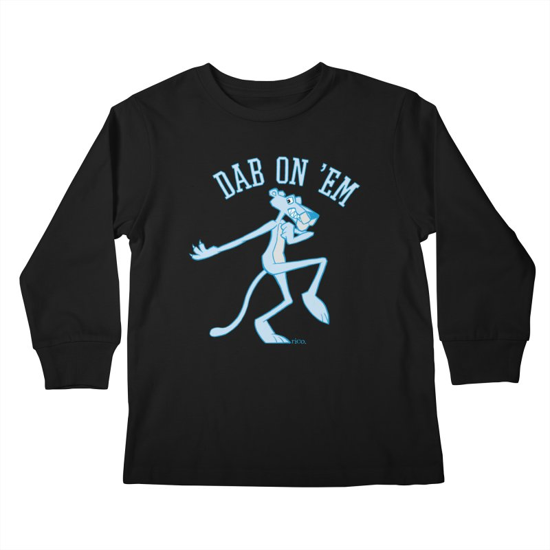 Dab On 'Em Kids Longsleeve T-Shirt by whoisrico's Artist Shop