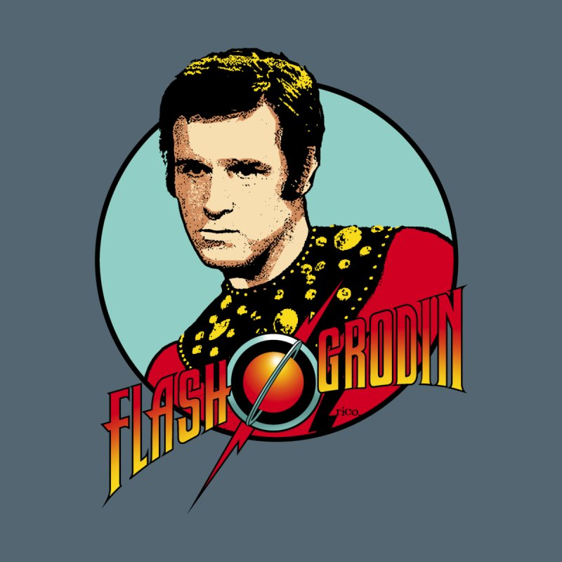 Flash Grodin Men's T-Shirt by whoisrico's Artist Shop