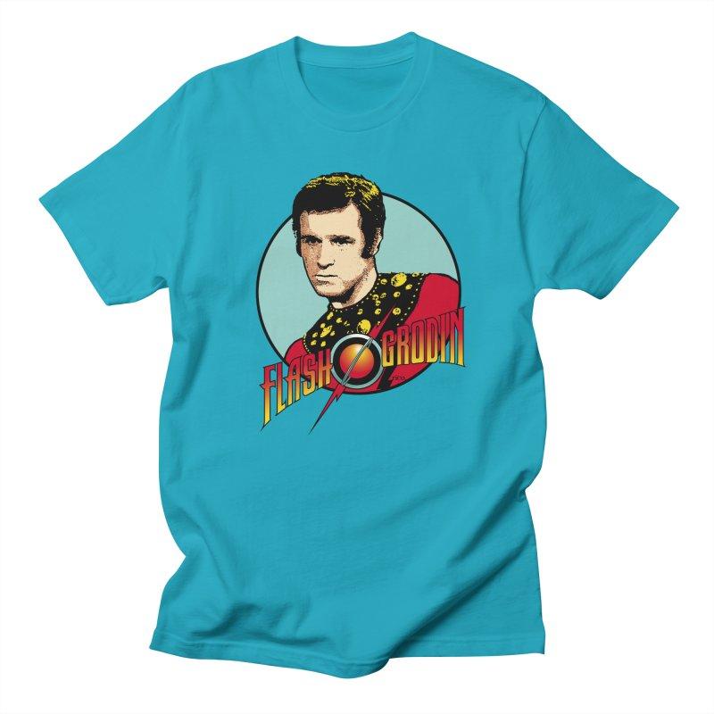 Flash Grodin Men's T-Shirt by whoisrico's Artist Shop