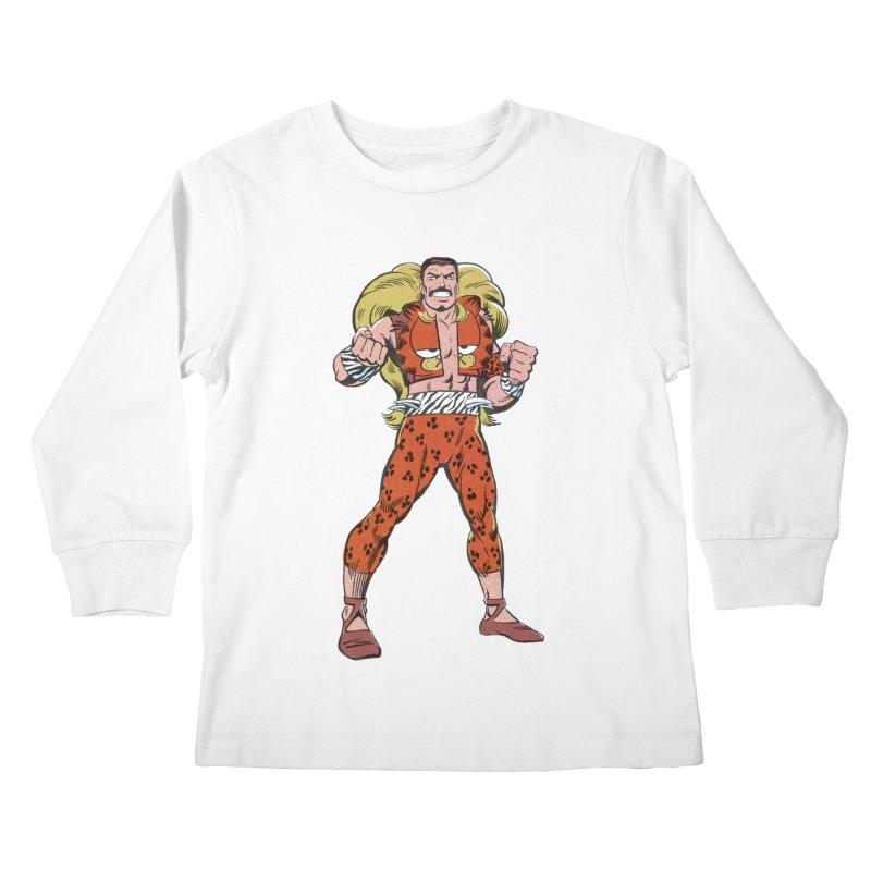 Mondays Amirite Kids Longsleeve T-Shirt by whoisrico's Artist Shop
