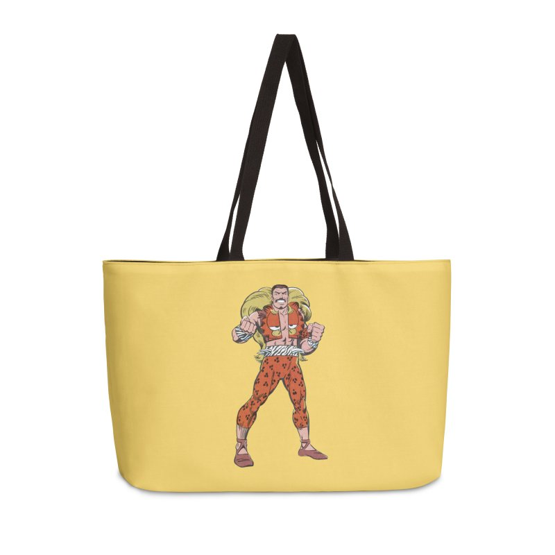 Mondays Amirite Accessories Weekender Bag Bag by whoisrico's Artist Shop