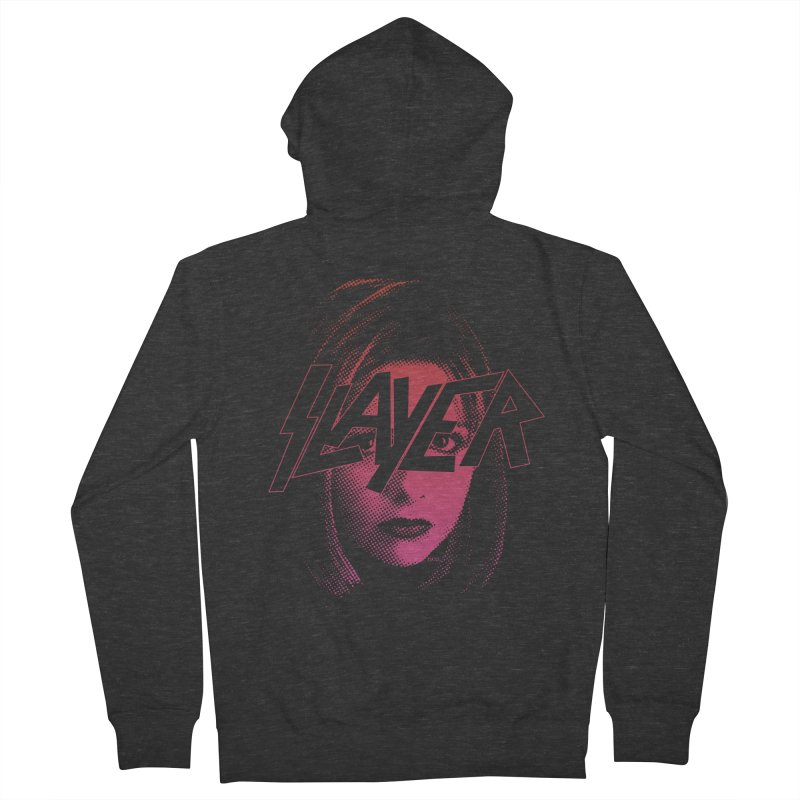The Shirt That Slays (Bloody) Men's Zip-Up Hoody by whoisrico's Artist Shop