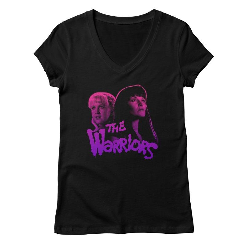 The Warriors 2  Women's Regular V-Neck by whoisrico's Artist Shop