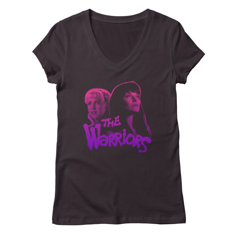 The Warriors 2  Women's V-Neck by whoisrico's Artist Shop