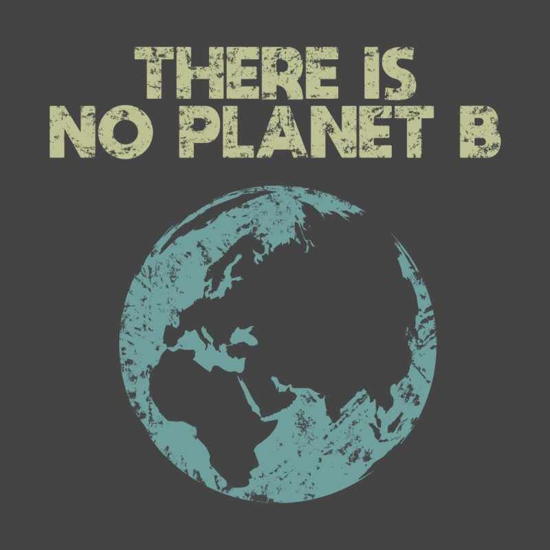 There Is No Planet B - Earth Day Men's T-Shirt by REALLY WHOLESOME STUFF