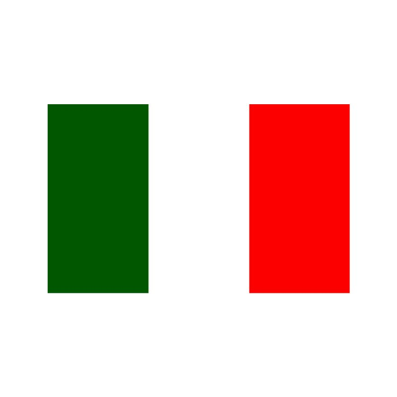 Italian Flag Accessories Face Mask by Westchester Italian Cultural Center's Shop