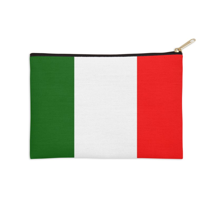 Italian Flag Accessories Zip Pouch by Westchester Italian Cultural Center's Shop