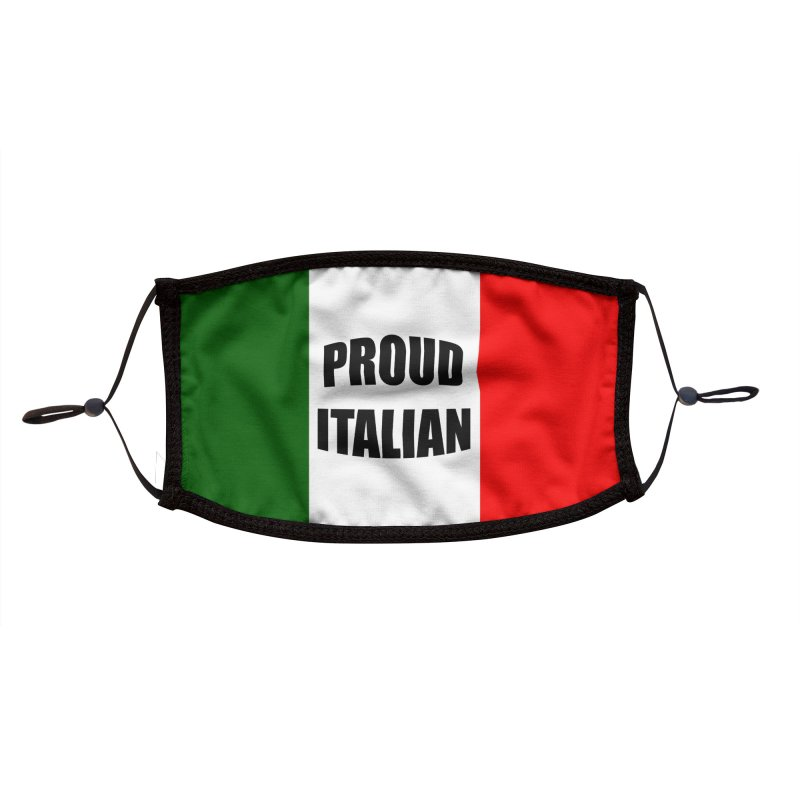 Proud Italian Accessories Face Mask by Westchester Italian Cultural Center's Shop