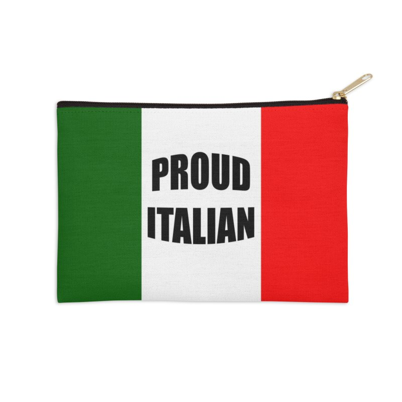 Proud Italian Accessories Zip Pouch by Westchester Italian Cultural Center's Shop