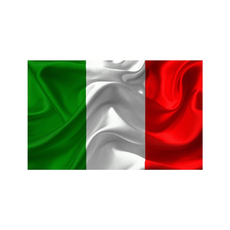 Italian Flag (Textured) Accessories Zip Pouch by Westchester Italian Cultural Center's Shop